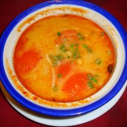 Soupe thaïlandaise au poulet