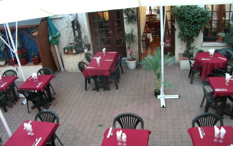 salle en terrasse