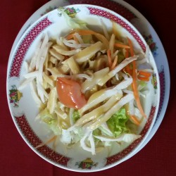 salade chinoise aux poulets