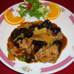 boeuf au champignon noir et bambou