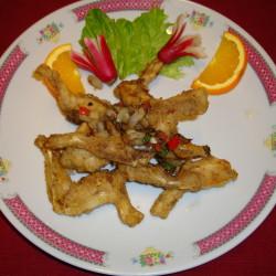 cuisse de grenouille aux sel et poivre