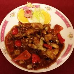 cuisses de grenouilles aux piments rouges