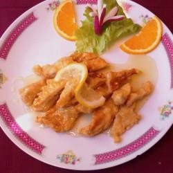 poulet aux citron